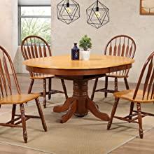 oval dining table,farmhouse,nutmeg finish,walnut,oak,dining,traditional