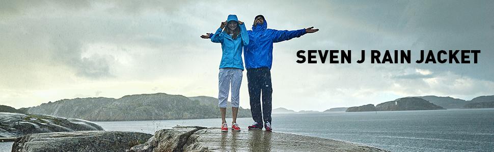 seven j jacket, waterproof rain jacket, rain jacket with hood, breathable rain jacket
