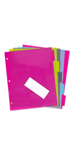 tab dividers, insert-able tab dividers
