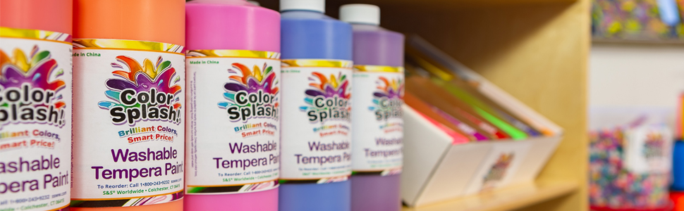 color splash branding paint