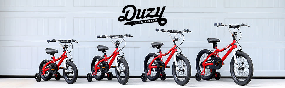 duzy red bikes lined up against a wall