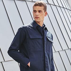 jackets, long sleeve, perry ellis