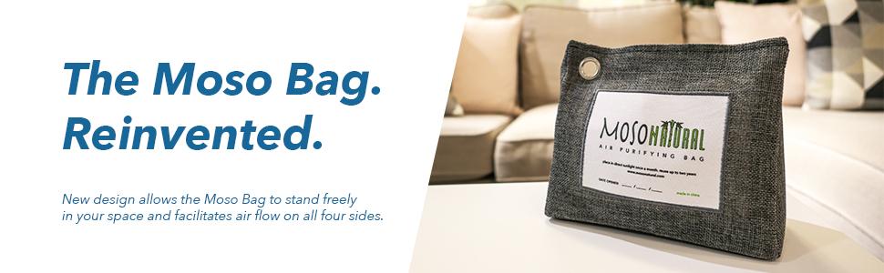 Moso Natural Air Purifying Bag. NEW