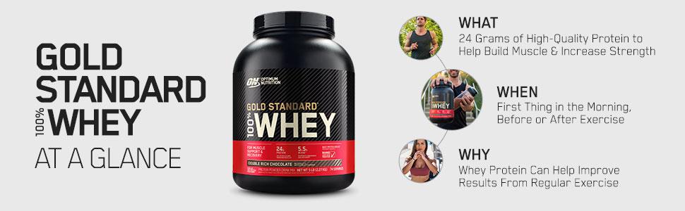Gold Standard Whey, GSW, Optimum Nutrition, Protein Powder, Exercise, Workout, Pre Workout, GSW