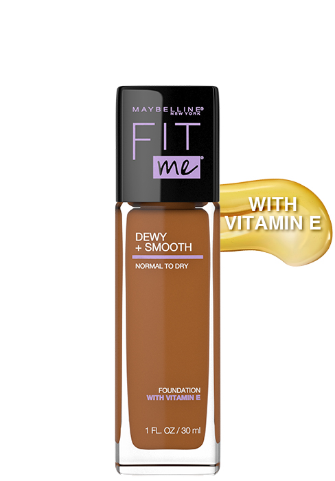 maybelline fit me foundation, foundation with vitamin e, foundation for oily skin