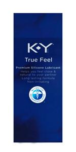 ky true feel silicone personal lubricant;sex lube;sex lubricant;non-irratating lube;premium lube