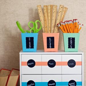 washi tape classroom decoration