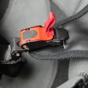 motorcycle skull helmet quick release strap