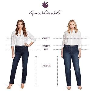 Gloria Vanderbilt original designer jeans for women