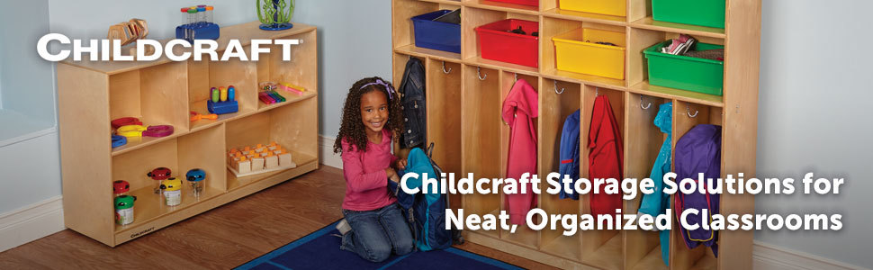 Childcraft Storage Solutions for Neat, Organized Classrooms