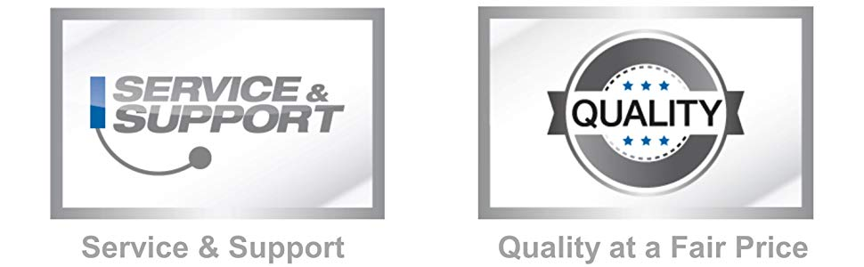 high quality products at fair prices knowledgeable technicians available to answer your questions
