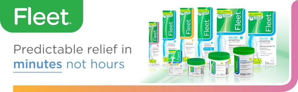 Fleet | Predictiable relief in minutes not hours