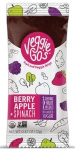 Veggie-GO's, Veggie Gos, Fruit Leather, Fruit snack, Kids snack, organic, non-GMO, dried fruit
