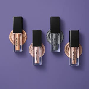 Exhibitionist Liquid Glitter Shadow in 4 shades