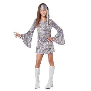 Disco, Dance Party, 70's, 1970's, Foxy, Diva, Dance Recital, Halloween, Girl's Costume, Go Go Dancer