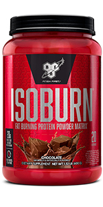 ISOBURN - Fat-Burning Protein Powder - 2-In-1 Support for Your Fit Physique