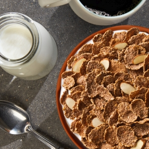 Kelloggs Special K Protein cereals have crunchy flakes that pair great with milk
