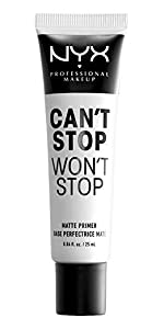 can't stop won't stop matte primer, nyx, nyx cosmetics