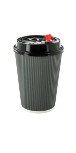 Paper to go coffee cups for taking coffee and tea to the office. The best paper cup for coffee & tea