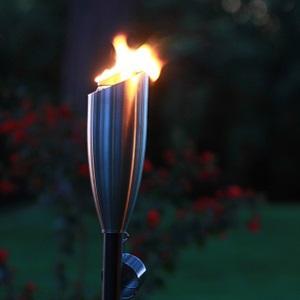 stainless steel torch, tiki brand