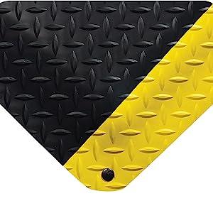 mat, diamond mat, diamond tread, anti fatigue, fatigue mat, floor mat, work mat, comfort mat,