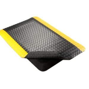 diamond plate, sponge, work mat, fatigue mat, diamond plate, diamond tread, comfort mat, industrial