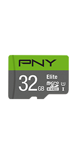 32GB Elite Class 10 U1 microSDHC Flash Memory Card
