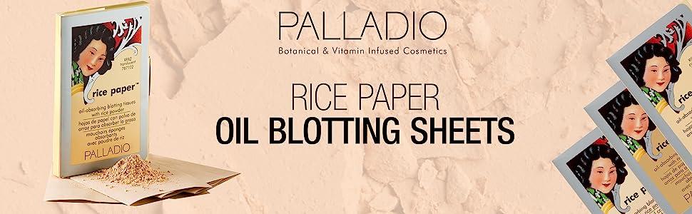 Oil blotting tissues