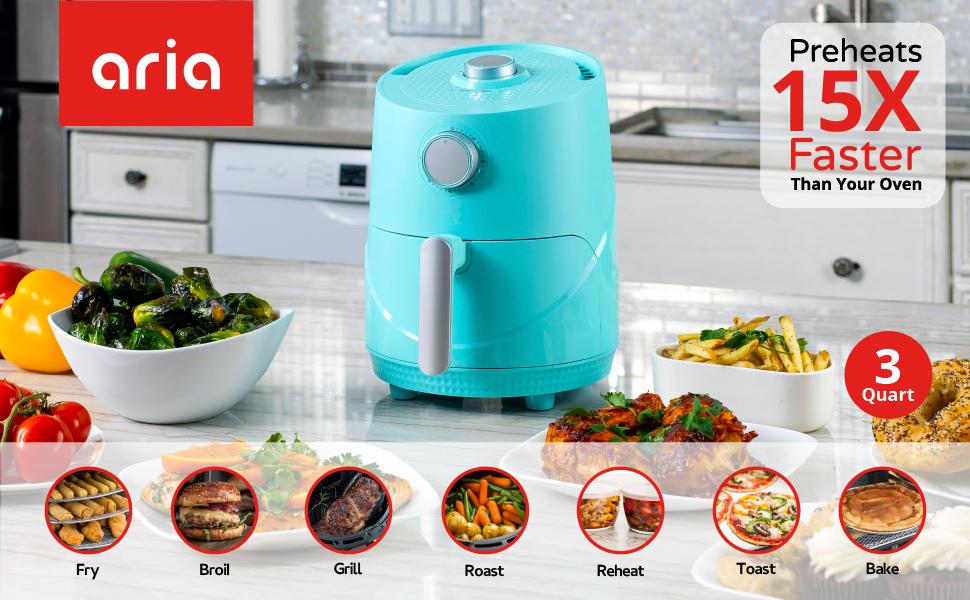 1800 watt fry chicken wings burgers immune-boosting immunity clean cook faster air free prime day