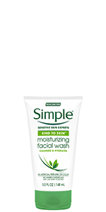 Simple Kind to Skin Facial Wash Moisturizing