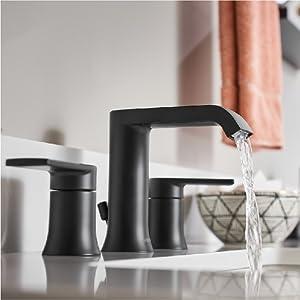moen, bathroom faucet