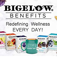 Bigeow Benefits, good-for-you teas