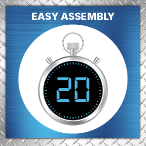Easy assembly, ready to assemble, wire shelving, closet organizers, storage shelves, garage rack