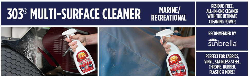 multi surface cleaner boat cleaner boat care 303 products