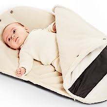 bunting bag, footmuff, stroller blanket, Bundleme, swaddle blanket, blanket, snuggle bunting,