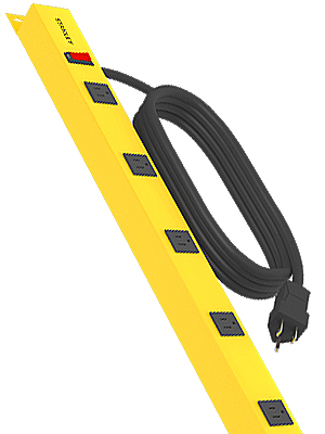 shopmax 6 six outlet mounting brackets allow to mount to wall surge protection for workshop stanley