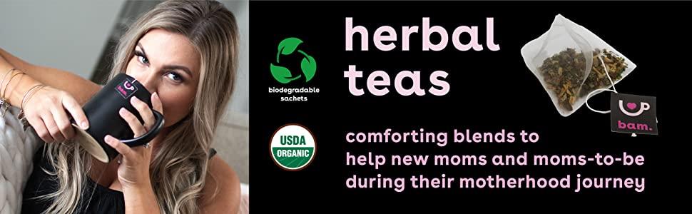 bamboobies herbal teas organic new moms