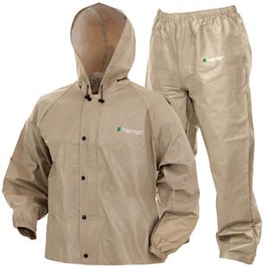 Khaki Rain Suit