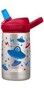 camelbak, eddy kids, kids water bottle, metal water bottle, insulated kids bottle, metal bottle