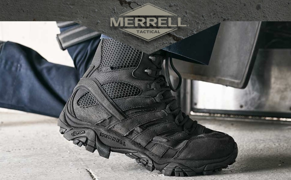 merrel tactical shoes