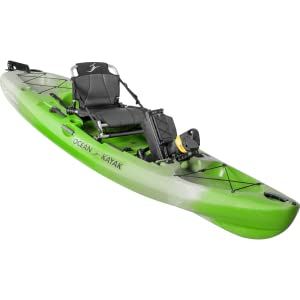 Ocean kayak, kayak, Malibu Pedal, PDL, solo, kayaking, sit on top