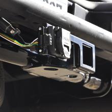 CURT Custom Trailer Wiring Harness Hitch Receiver