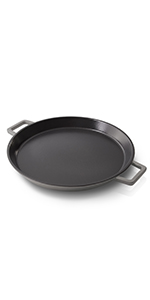 GZ; zakarian; cast; iron; pan; nonstick; real; oven; safe; heavy;