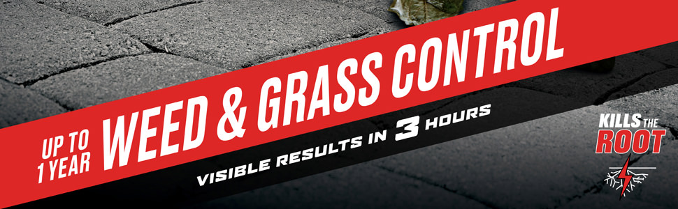 Up To 1 Year Weed & Grass Control