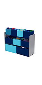 delta children multi bin toy organizer kids toddler