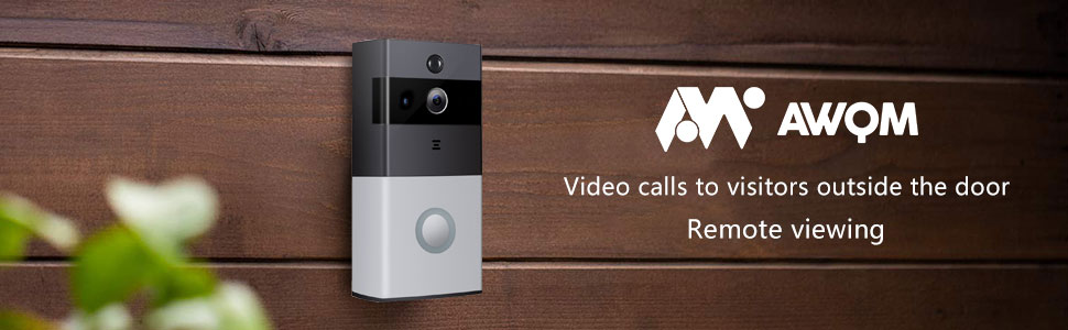 WIFI VIDEO DOORBELL WITH CAMERA CORDLESS WIRELESS PHD 1080P Camera