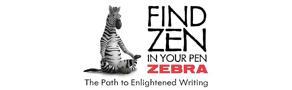 Steel line from Zebra, Zebra Pens, Zebra stainless steel writing instruments, Zebra logo