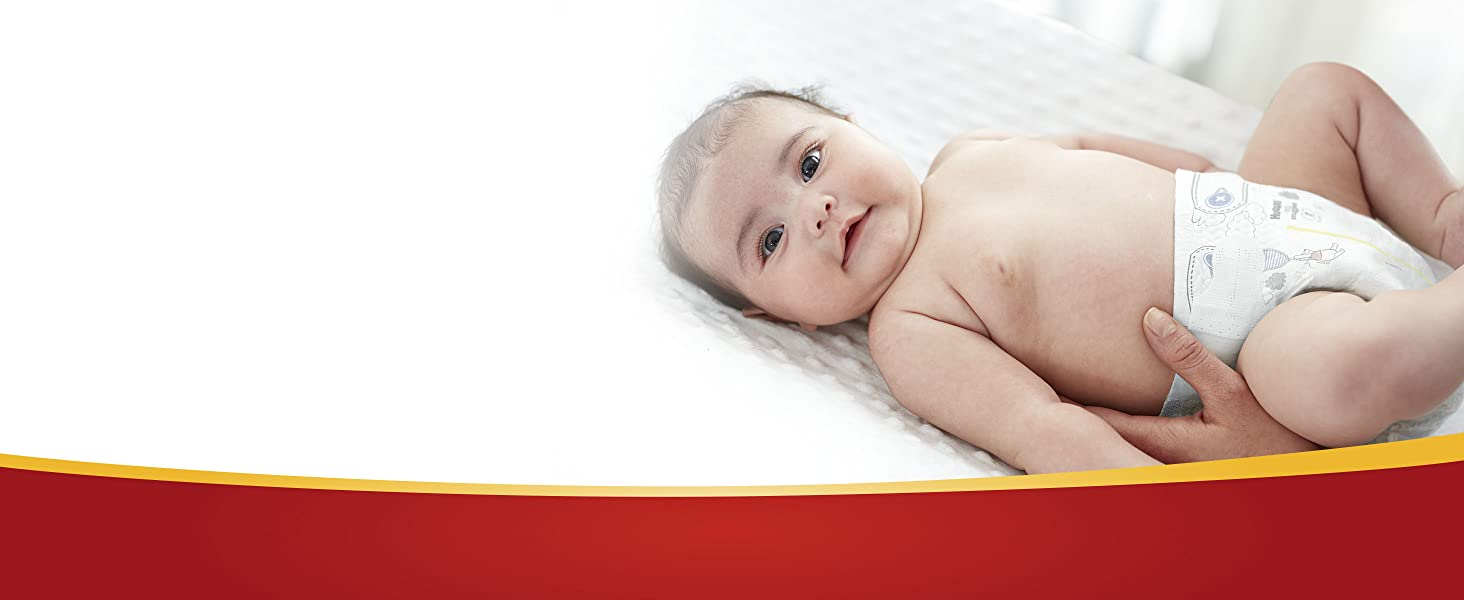 Huggies Little Snugglers Infant Diapers are soft, gentle and unscented for sensitive skin