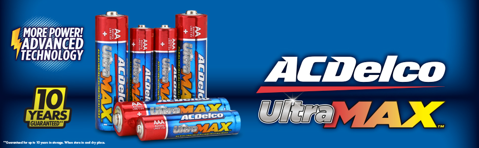 Ultramax batteries