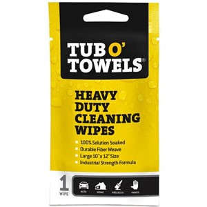 Tub O' Towels, Cleaning Wipes, Hand Wipes, Tool Wipes, Auto Wipes, Car Cleaning Wipes, Paint Wipes